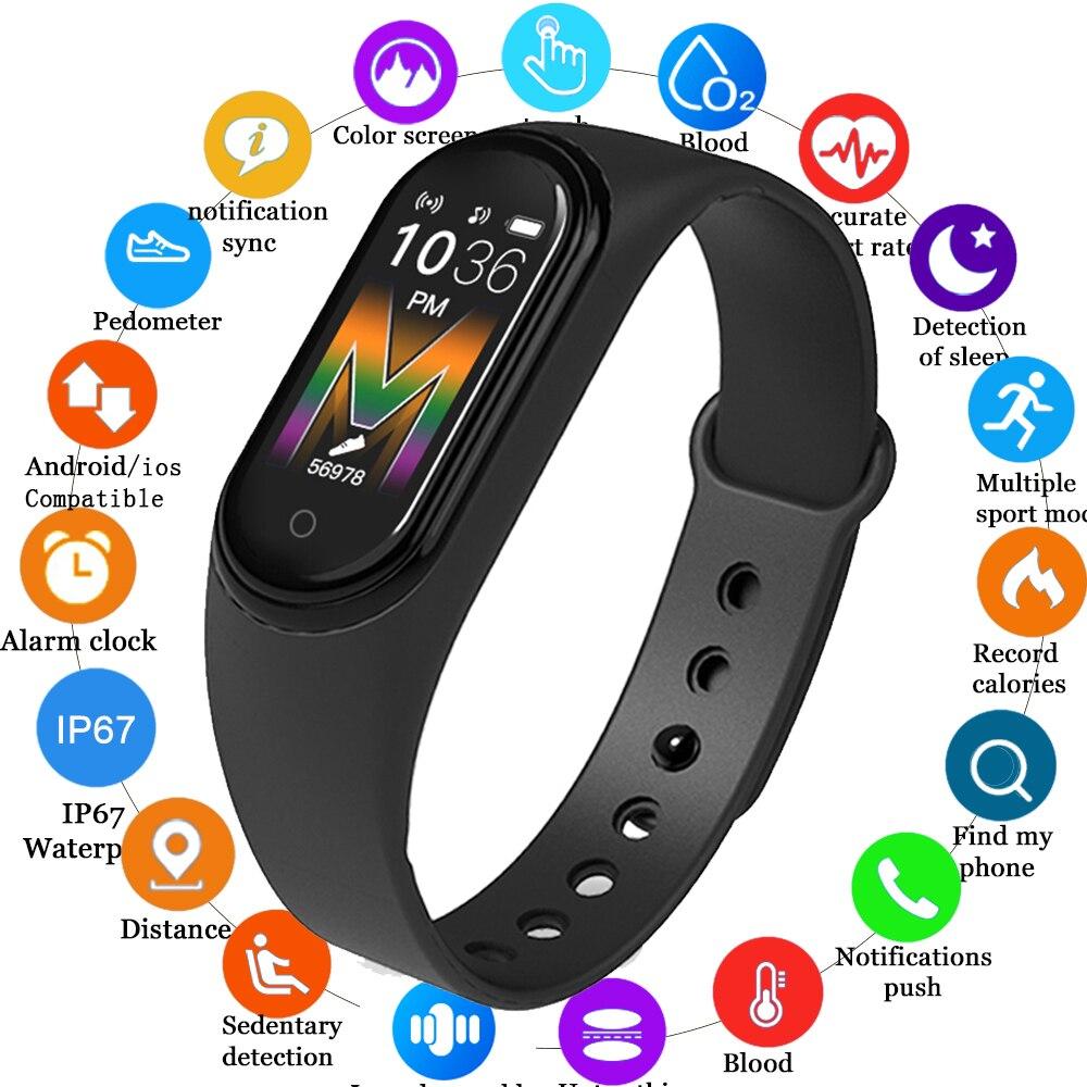 M5 M4 умный Браслет Bluetooth телефонный звонок Часы сердечного ритма приборы для измерения артериального давления 5 фитнес трекер для Xiaomi Huawei Ios