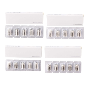 5Pcs/Set Replacement Coil Heads For Joyetech AIO CUBIS BF SS316 0.5/0.6/1.0/1.5 Ohm