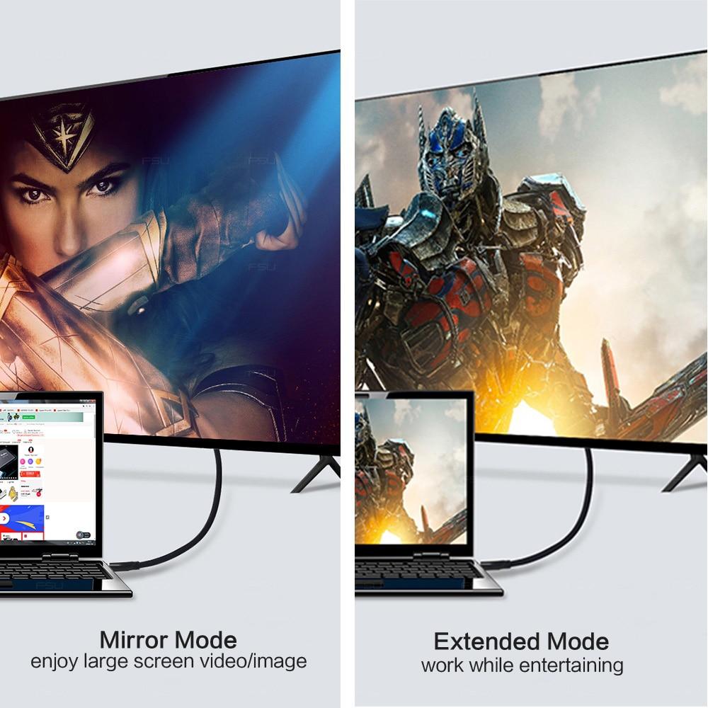 Fsu Hdmi-Compatibele Kabel Video Kabels Vergulde 1.4 4K 1080P 3D Kabel Voor Hdtv Splitter Switcher 0.5M 1M 1.5M 2M 3M 5M 10M 5