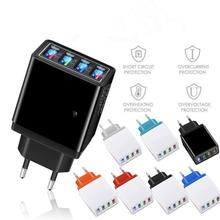 New 4 Multi-Ports USB Charger Quick Charge For Phone Adapter