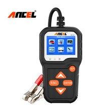 جهاز اختبار بطارية السيارة ANCEL BA301 للدراجات النارية 6 فولت و 12 فولت سيارة محلل 100 إلى 2000 CCA جهاز اختبار بطارية PK KW600 مُحلل بطارية السيارة