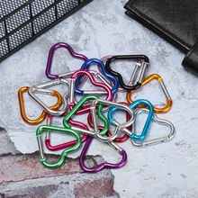 Keyring Hook Carabiner Key-Chain-Clip Travel-Kit-Accessories Hanging-Buckle Aluminum-Alloy