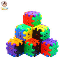 цены 170 Pcs Colorful Plastic Building Blocks Bricks Toys with Number Math Learning Educational Blocks Xmas Gifts for Children Kids