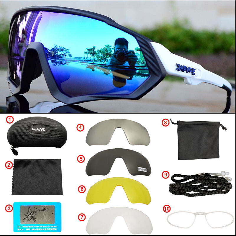 Image 5 - Outdoor Sport Cycling Sunglasses for Men Women TR90 Frame Bike Mountain Bike MTB Bicycle Cycling Glasses  Oculos CiclismoCycling Eyewear   -