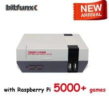 Boîtier Mini NESPI boîtier rétrodrapeau avec ventilateur de refroidissement Kit de bouton dalimentation pour Raspberry Pi B +/2B/3B/3B +