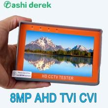 Mini Ahd kamera monitörü bilek tasarım Cvbs Analog 8mp kamera test desteği Ahd Cvi Tvi PTZ Utp ağ Cctv test cihazı üç modelleri