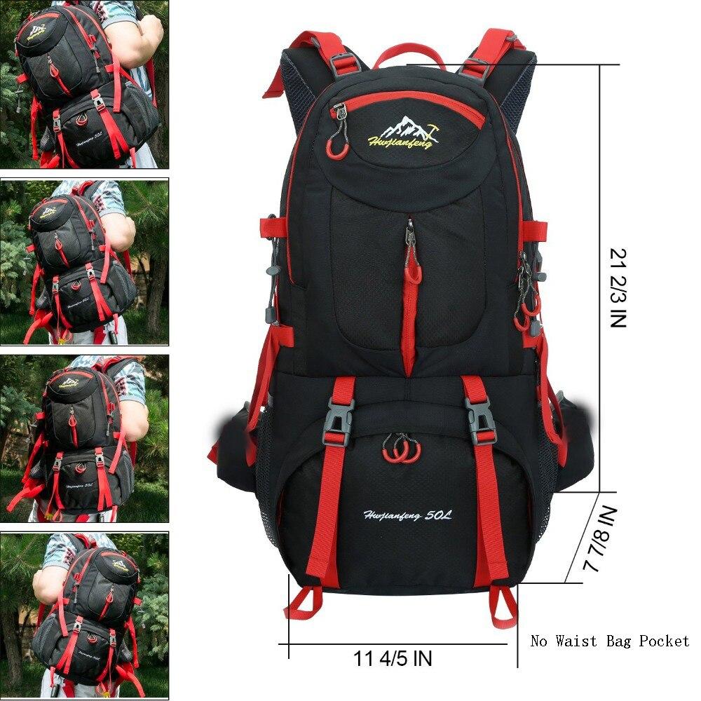60l Camping Hiking Travel Riding Waterproof Hiking Backpacks 3
