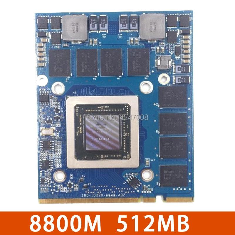 661-4664 For Apple Imac A1225 8800M GS 8800MGS 512M G92-700-A2 Vga Video Graphic card 180-10398-0005-A04 180-10398-0000-A02