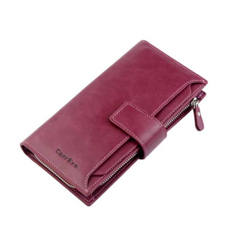 Wallet  New Fashion Lady Women PU Leather Wallet Clutch  Long Card Bag Holder Case Purse /BY