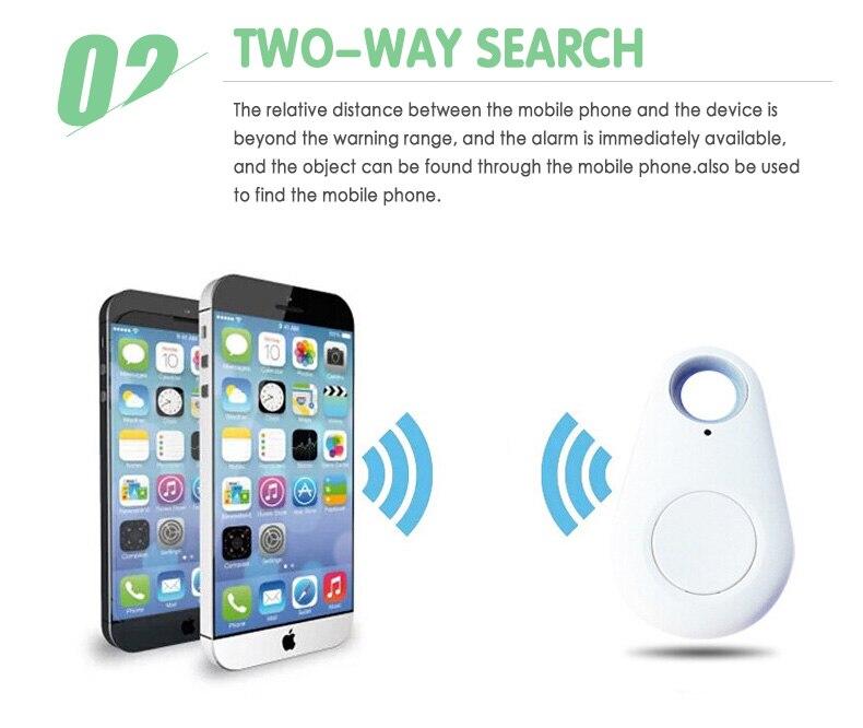 Mini Smart Tag GPS Tracker Bluetooth4 Wireless Anti lost Alarm Child Bag Wallet Key Finder GPS