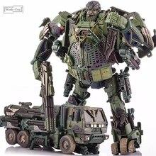 Robot Biến Hình WJ M02 Khói Ngụy Trang Thám Tử Mô Hình Xe Tải Hình Hành Động Hợp Kim Bộ Sưu Tập Mô Hình Đồ Chơi Quà Tặng