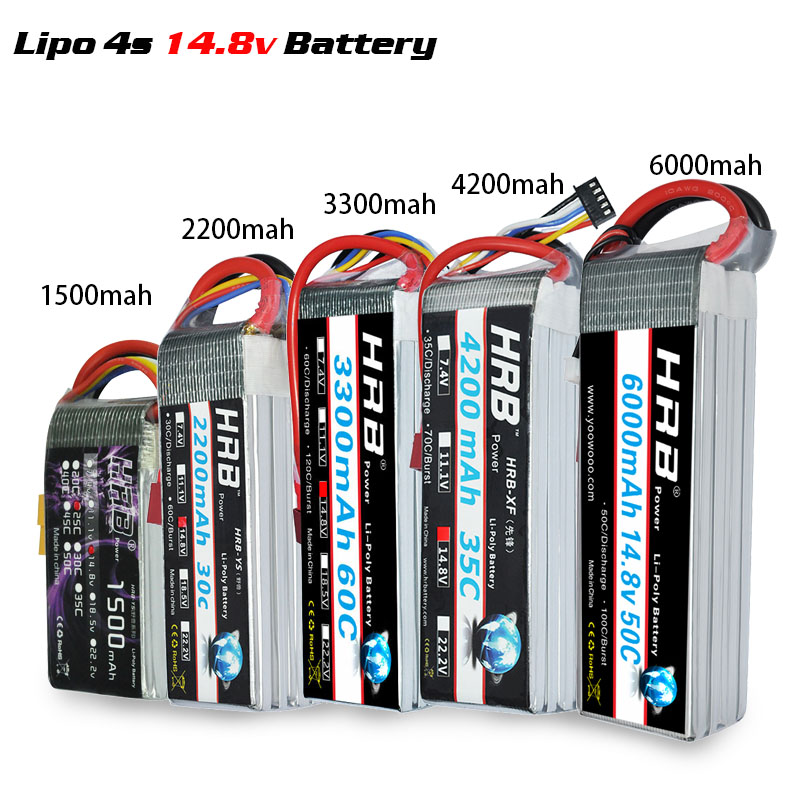 Image 4 - HRB Lipo 2S 7.4V 3S 11.1V 5000mah 4S 14.8V 6S 22.2V Battery 1800mah 2200mah 2600mah 3300mah 4200mah 6000mah 1/10 Car Hubsan H501-in Parts & Accessories from Toys & Hobbies