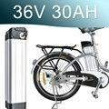 36 В Серебряная рыба 30AH литиевая батарея 500 Вт 1000 Вт 42 в электрический велосипед скутер E-bike