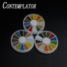 Contemplator 12 цветов для вязания мушек голографические бусины