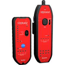 Portable YN-892 Network Cable Tester Rechargeable Wire LAN Network Cable Tester Electrical Line Finder Testing with LED Light