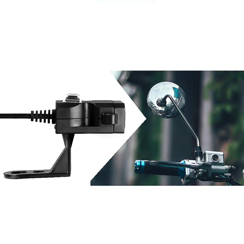 Dual USB Port 12V Wasserdicht Motorrad Motorrad Lenker Ladegerät 5V 1A/2.1A Adapter Netzteil Buchse für telefon Mobile