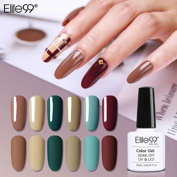 Elite99 Kamel Series Gel Polish Für Maniküre Semi Permanent Primer Matte Top UV LED Marmelade Gel Lack Soak Off Gel nagellack