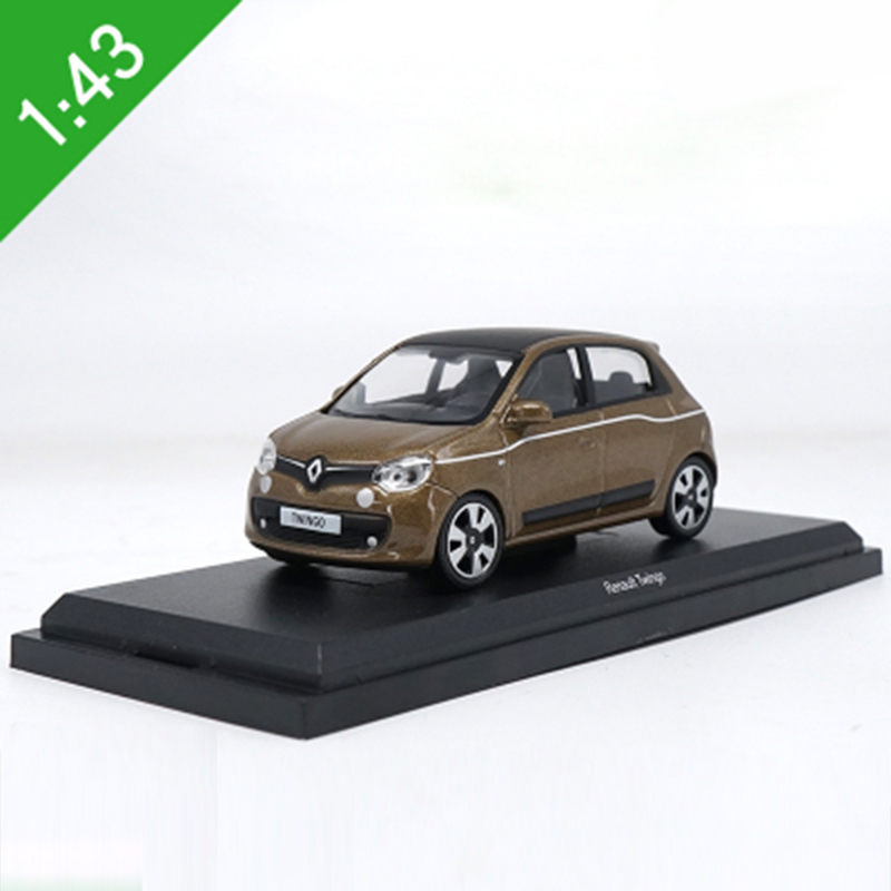<font><b>1:43</b></font> Renault Twingo Alloy Model <font><b>Car</b></font> Static high simulation Metal Model Vehicles For Collectibles Gift image