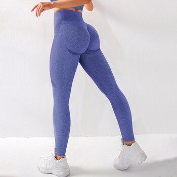 RUUHEE Seamless Legging Yoga Pants Sports Clothing Solid High Waist Full Length Workout Leggings for Fittness Yoga Leggings 12