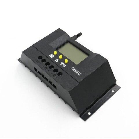 display lcd controlador de carga solar painel
