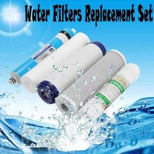 Image 5 - 5 段階逆浸透 ro 水フィルター交換セット水フィルターカートリッジ 75 gpd 膜家庭用浄水器