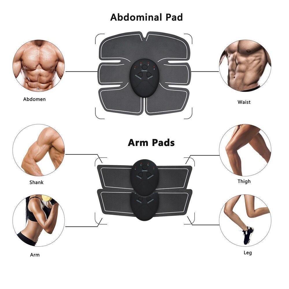 EMS стимулятор мышц бедра фитнес-лифтинг ягодиц брюшной тренажер для похудения тела массаж дропшиппинг новое поступление 3