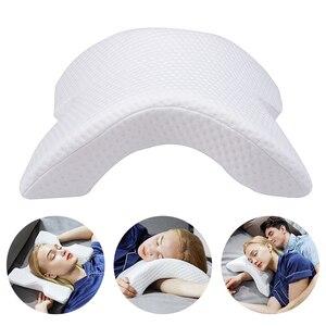 Image 1 - Memory Foam Pillow Anti pressure Hand Pillow Neck Protection Slow Rebound Multifunction Bedding Pillow Couple Pillow подушка