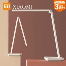 새로운 XIAOMI MIJIA 테이블 램프 lite Mi LED 읽기 책상 램프 학생 접이식 테이블 조명 실내 침대 옆 야간 조명 3 밝기 모드