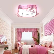 купить Cute Cartoon Kid Baby Room Light Lamp Princess Led Ceiling Light Lamp For Girls Boy Babies Kids Children's Room Bedroom Lighting дешево