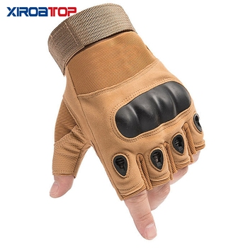 Hot Sale 2020 Men Women Outdoor Sport Tactical Gloves Airsoft  Half Finger Gloves Military Combat Gloves Shooting Hunting Gloves 3