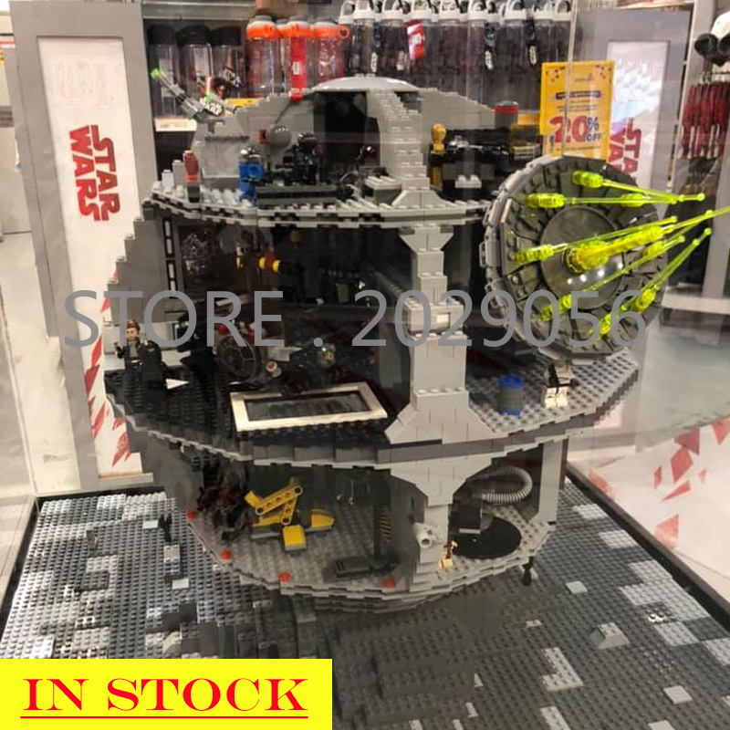 05063 81061 Star Wars Series Death Star Force Waken UCS 4016pcs Building Block Bricks Gift Compatible With 05035 81037 75159
