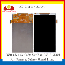 10Pcs/lot For Samsung Galaxy Grand Prime G530 G530F G530H G531 G531F LCD Display Screen Monitor Module SM-G530H SM-G530F LCD 100% guarantee for samsung galaxy grand prime g531 g531f new lcd display panel screen monitor moudle repair replacement