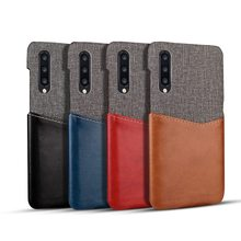 Fabric Cloth PU Leather Case For Xiaomi Mi 9 8 SE Mi8 Explorer 6X A2 5X A1 Redmi 5 Plus Note Pro Card Slot Business Cover