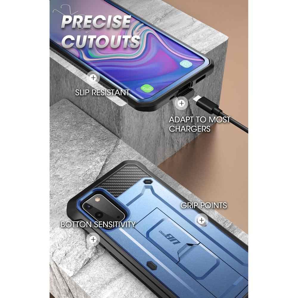Suporte para samsung galaxy s20 case/s20 5g (2020 liberação) ub pro capa de coldre de corpo inteiro sem protetor de tela embutido