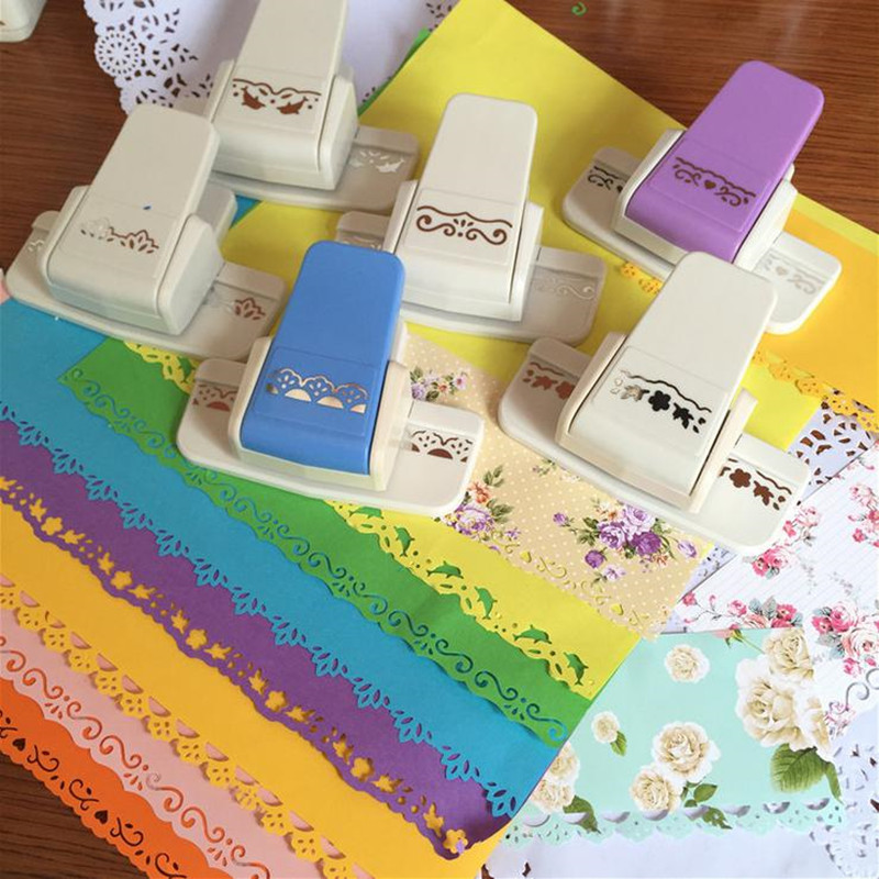 Punch Scrapbooking Handmade Edge Device DIY Paper Cutter Craft Handmade New Fancy Border Punch S Flower Design Embossing