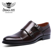 Shoes Dresses DESAI Made-In-China Mens Business-Increased-Height Laces Size-Tip Large