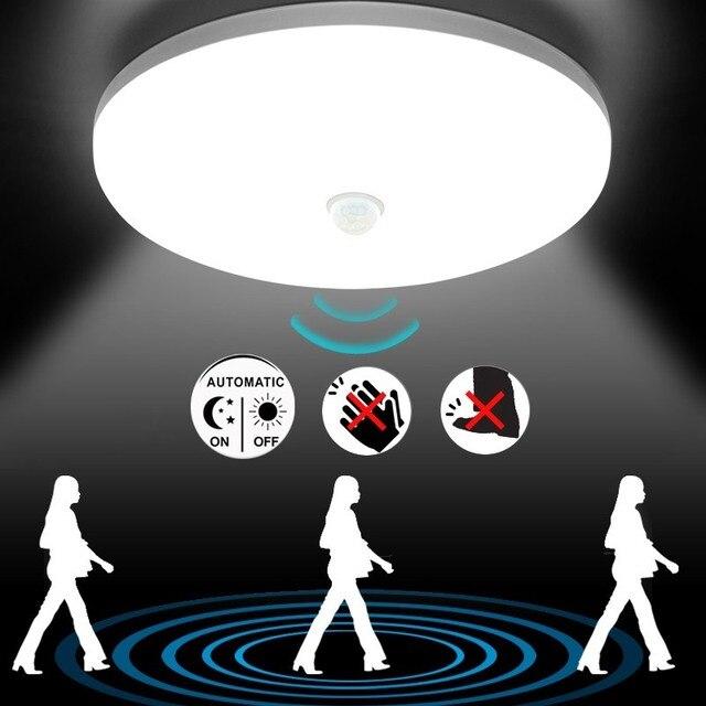 Led Plafond Verlichting Pir sensor Motion 36W plafond Lamp 2