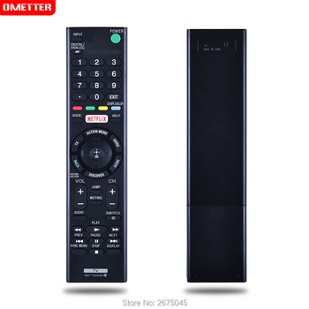 RMT-TX200B Remote control use for Sony led lcd TV with netflix  Kd-65x7505d Xbr-49x705d controller teleconmando fernbedienung new replace rmt tx202p remote control for sony lcd smart tv rmt tx300p kd 55x9305c kdl 55w805c 55w808c kdl 50w755c kd 55x8509c