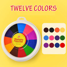 Funny Finger Painting Kit Finger Drawing Toys Educational Tool Kit Mud Painting Kids Early Learning Toy I88