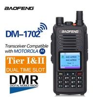 Baofeng Dealer Digital Ham Radio Dual Band Mobile Transceiver DMR 1702 Radio Dual Mode Professional FM Transceiver DM1702 Radio