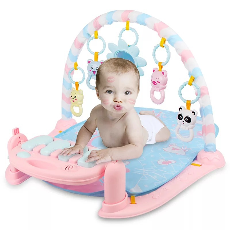 Baby Play Mat Music Puzzle Puzzle With Piano Keyboard Educational Toys Rack Infant Fitness Crawling Mat Gift For Kids Gym