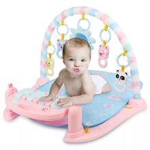 Baby play mat music puzzle puzzle with piano keyboard educational toys rack infant fitness crawling mat gift for kids gym(China)