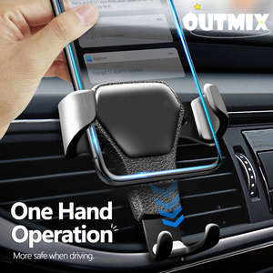 Universal Car Phone Holder For Phone Car Air Vent Clip Mount No Magnetic Mobile Phone Cell Stand Support For iPhone 11 Xiaomi LG