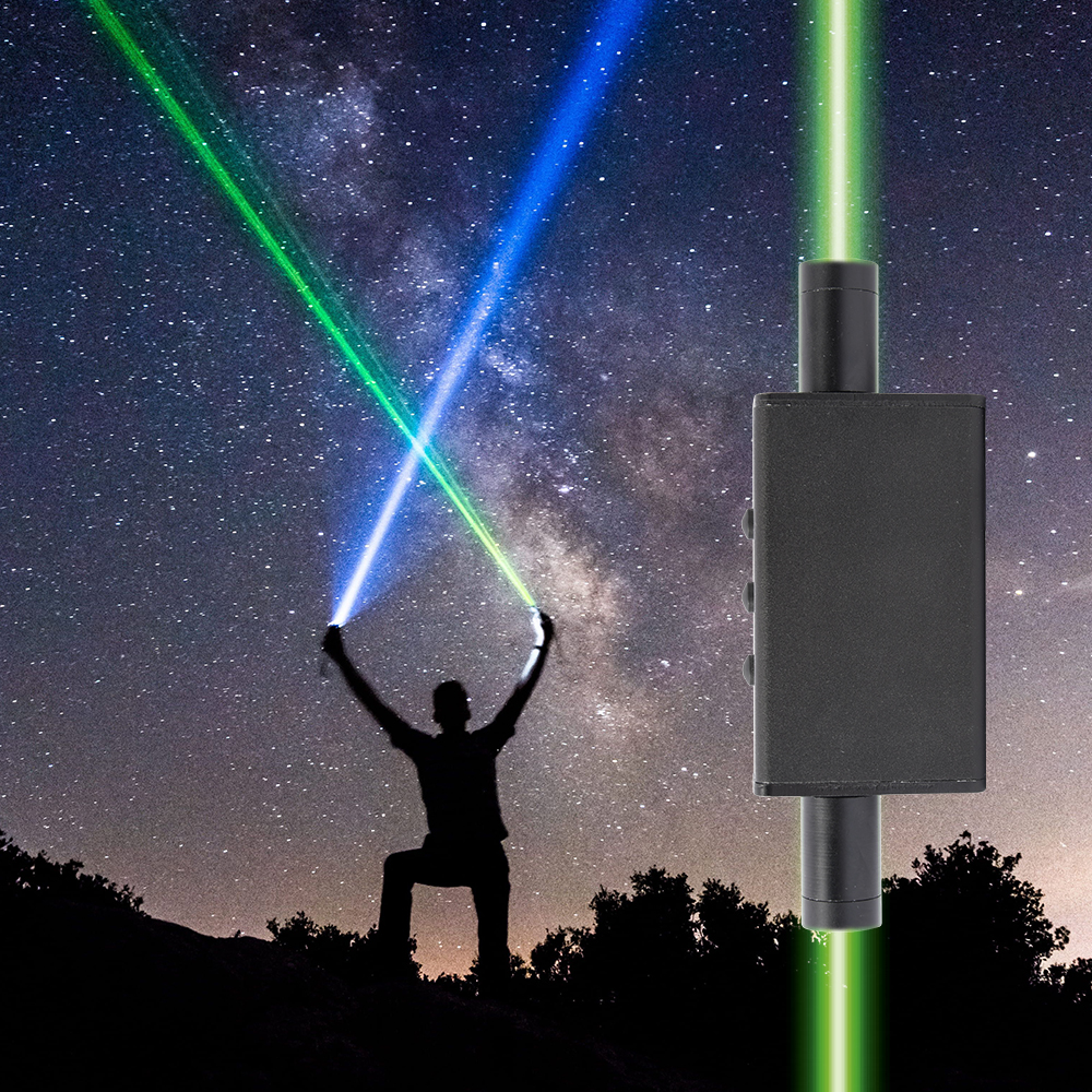 Mini laser à Double tête épée laser danse accessoires de scène de poche laser se réfère à étoile stylo faisceau épais pour Laser danse Dj spectacle