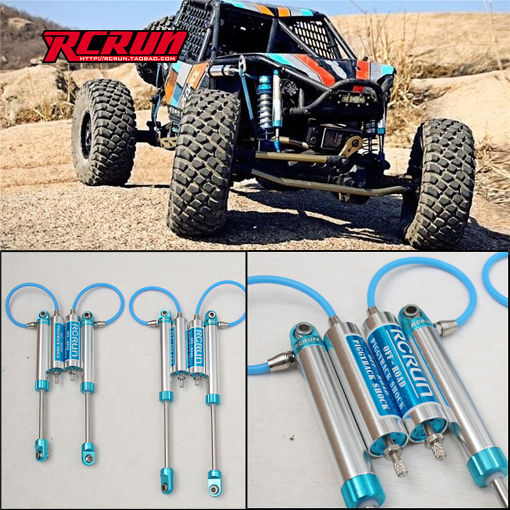 Pressure Shock Absorber Off-road Piggyback Shock Absorber For Axial RR10 90048 90053 RC Climbing Car Traction Parts Accessories