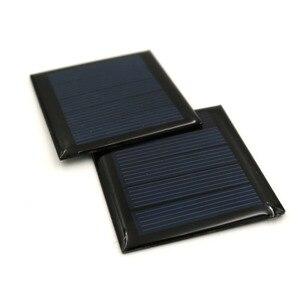 Image 4 - 2 adet 2.5V 110mA polikristal GÜNEŞ PANELI silikon epoksi standart pil güç şarj modülü küçük Mini güneş pili