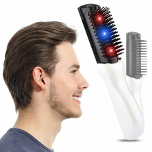 Hair Growth Magnetic Comb UV Regrowth Thickening System Healthcare Scalp Massager MH88
