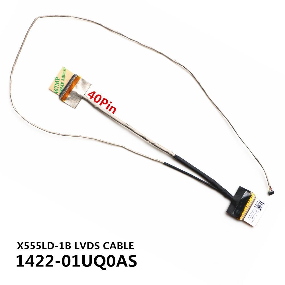 Новый ЖК-кабель для ASUS X555LD K555L A555L F555L R556L X554L Y583L LCD LVDS-кабель 1422-01UQ0AS 1422-01UN0AS 1422-01T00AS