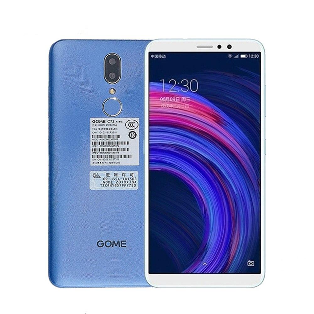 Gome C72 Smartphone 4GB RAM 64GB ROM MTK6763T Octa Core 13MP 5.99