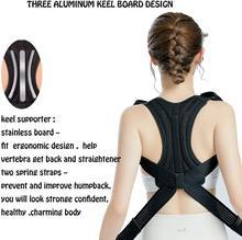 Posture Corrector Shoulder Supporter Used for Thoracic kyphosis deformity and Provides Shoulder Neck Pain Relief keel Support